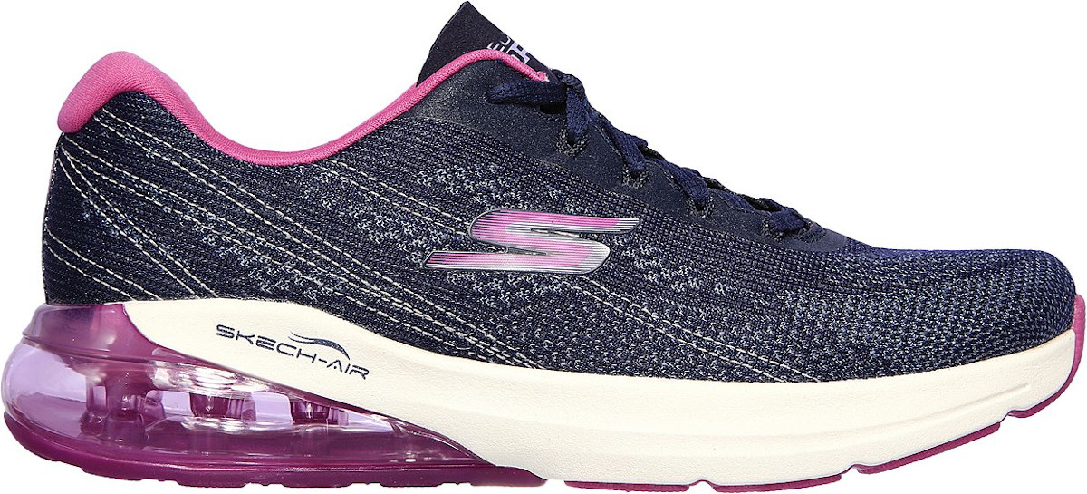 Running shoes Skechers GO RUN AIR-SILVER SPARKLE