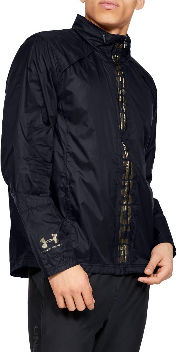 Hooded jacket Under Armour Accelerate Pro Storm Shell-BLK