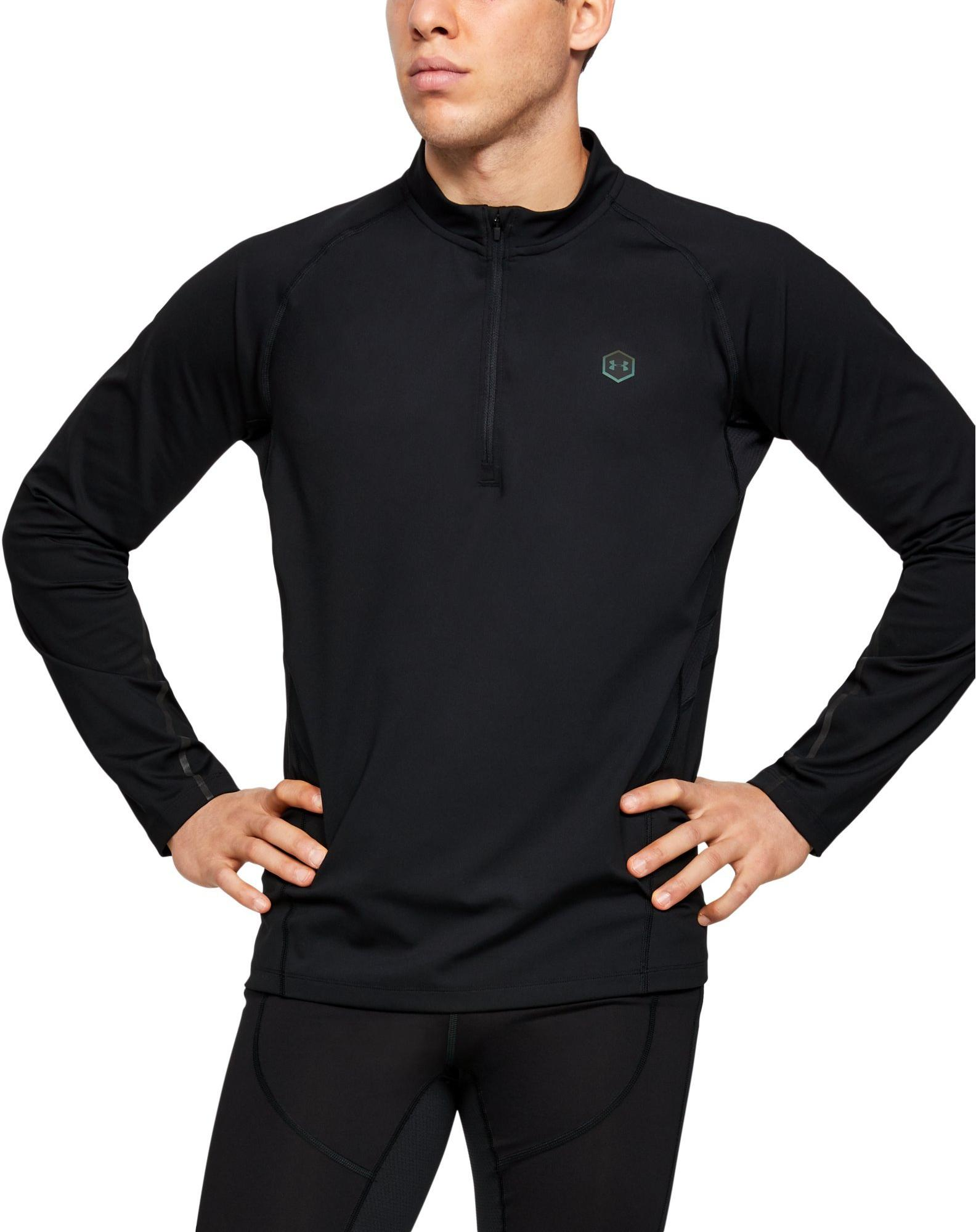 Long-sleeve T-shirt Under Armour UA RUSH RUN COLDGEAR HALF ZIP
