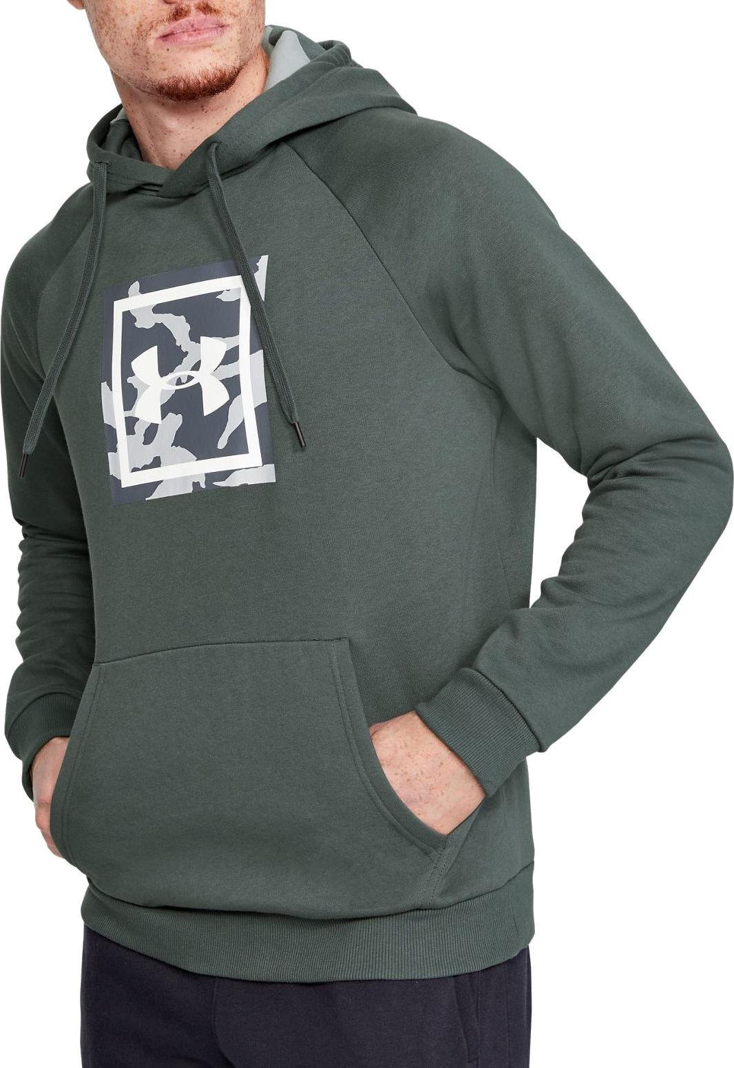Hooded sweatshirt Under Armour RIVAL FLEECE PRINTED HOODIE