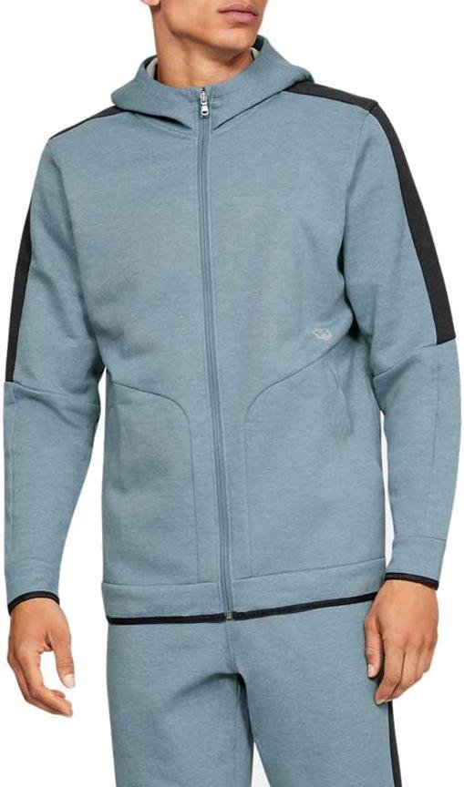 Hooded sweatshirt Under Armour Athlete Recovery Fleece Full Zip