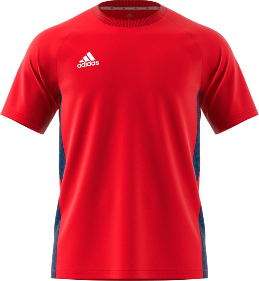Insatisfactorio navegación Comprimir  T-shirt adidas TAN Tape TEE - Top4Running.com